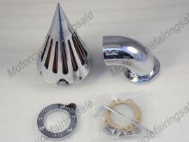 Harley S & S de nettoyage filtre à air d'admission demande pic personnalisé carburateur -chrome