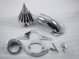 Honda nouvelle aéro ombre pic 750 kit filtre d'admission d'air de nettoyage toute l'année - chrome