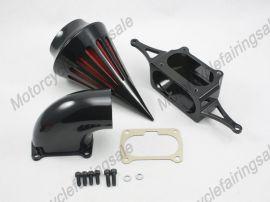 Yamaha pic moto guerrier filtre à air kit filtre d'aspiration 2002-2009 - noir