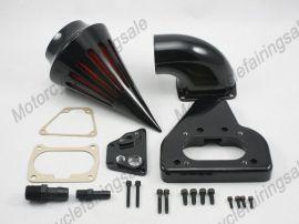 honda vtx moto 1800 pointe kit filtre à air de filtre d'aspiration 2002-2009 noir
