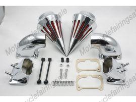 suzuki moto M109 boulevard pic filtre à air filtre d'aspiration kit -chrome