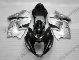 Suzuki GSX-R 1300 Hayabusa 1996-2007 Carénage ABS Injection - autres - argent/noir