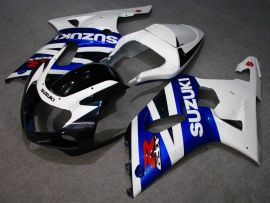 Suzuki GSX-R 1000 2000-2002 K1 K2 Carénage ABS Injection - autres - bleu/blanc/noir
