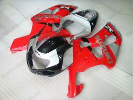 Suzuki GSX-R 1000 2000-2002 K1 K2 Carénage ABS Injection - autres - rouge/noir