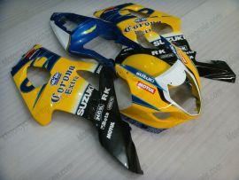 Suzuki GSX-R 1000 2003-2004 K3 Carénage ABS Injection - Corona - jaune/noir/bleu