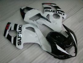 Suzuki GSX-R 1000 2003-2004 K3 Carénage ABS Injection - autres - blanc/noir