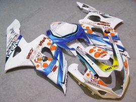 Suzuki GSX-R 1000 2005-2006 K5 Carénage ABS Injection - Dark Dog - blanc/bleu/orange