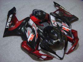 Suzuki GSX-R 1000 2005-2006 K5 Carénage ABS Injection - autres - noir/rouge