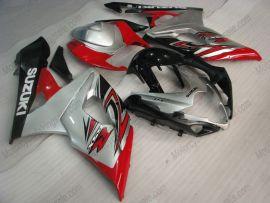 Suzuki GSX-R 1000 2005-2006 K5 Carénage ABS Injection - autres - argent/noir/rouge