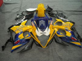 Suzuki GSX-R 1000 2005-2006 K5 Carénage ABS Injection - Corona - jaune/bleu