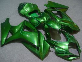 Suzuki GSX-R 1000 2007-2008 K7 Carénage ABS Injection - autres - tout vert