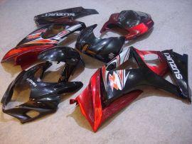 Suzuki GSX-R 1000 2007-2008 K7 Carénage ABS Injection - autres - rouge/noir