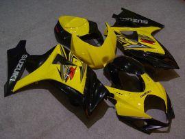 Suzuki GSX-R 1000 2007-2008 K7 Carénage ABS Injection - autres - jaune/noir