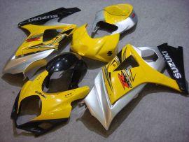 Suzuki GSX-R 1000 2007-2008 K7 Carénage ABS Injection - autres - jaune/noir/argent