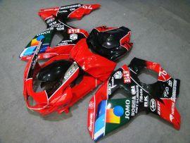 Suzuki GSX-R 1000 2009-2012 K9 Carénage ABS Injection - JOMO - rouge/noir