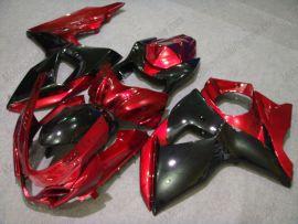 Suzuki GSX-R 1000 2009-2012 K9 Carénage ABS Injection - autres - rouge/noir