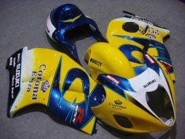Suzuki GSX-R 1300 Hayabusa 1996-2007 Carénage ABS Injection - Corona - jaune/bleu