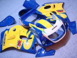 Suzuki GSX-R 600/750 1997-1999 Carénage ABS - autres - bleu/jaune