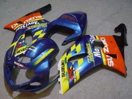 Suzuki GSX-R 600/750 2001-2003 K1 K2 Carénage ABS Injection - Movistar - bleu/jaune/orange