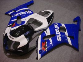 Suzuki GSX-R 600/750 2001-2003 K1 K2 Carenage ABS Injection - autres - bleu/blanc/noir