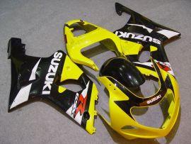 Suzuki GSX-R 600/750 2001-2003 K1 K2 Carénage ABS Injection - autres - jaune/noir