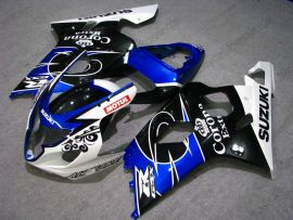 Suzuki GSX-R 600/750 2004-2005 K4 Carénage ABS Injection - Corona - noir/bleu/blanc