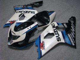 Suzuki GSX-R 600/750 2004-2005 K4 Carénage ABS Injection - Dunlop - blanc/bleu/noir