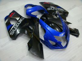 Suzuki GSX-R 600/750 2004-2005 K4 Carénage ABS Injection - autres - noir/bleu
