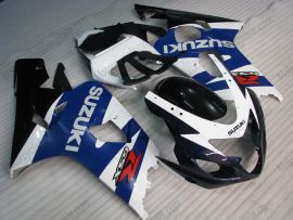 Suzuki GSX-R 600/750 2004-2005 K4 Carénage ABS Injection - autres - bleu/blanc/noir