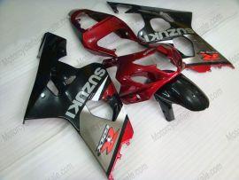 Suzuki GSX-R 600/750 2004-2005 K4 Carénage ABS Injection - autres - gris/corps noir avec headlight rouge