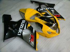 Suzuki GSX-R 600/750 2004-2005 K4 Carénage ABS Injection - autres - gris/corps noir avec headlight jaune