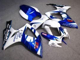 Suzuki GSX-R 600/750 2006-2007 K6 Carénage ABS Injection - Corona - blanc/bleu