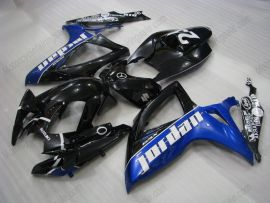 Suzuki GSX-R 600/750 2006-2007 K6 Carénage ABS Injection - Jordan - noir/bleu