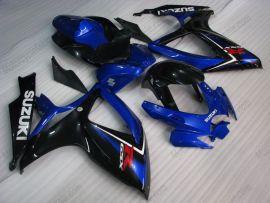 Suzuki GSX-R 600/750 2006-2007 K6 Carénage ABS Injection - autres - bleu/noir