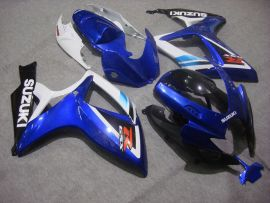 Suzuki GSX-R 600/750 2006-2007 K6 Carénage ABS Injection - autres - bleu/noir/blanc