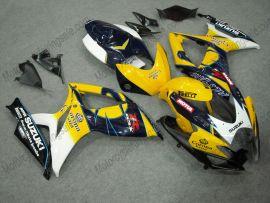 Suzuki GSX-R 600/750 2006-2007 K6 Carénage ABS Injection - Corona - jaune/bleu/noir