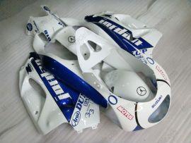 Suzuki RGV250 VJ23 1996-1999 Carénage ABS - Jordan - blanc/bleu