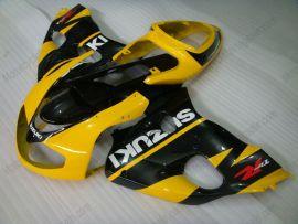 Suzuki TL1000R 1998-2002 Carénage ABS Injection - autres - jaune/noir