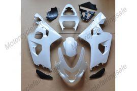 Suzuki GSX-R 600/750 2004-2005 K4 Carénage Non peint ABS Injection - blanc