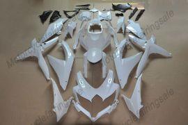 Suzuki GSX-R 600/750 2008-2010 K8 Carénage Non peint ABS Injection - blanc