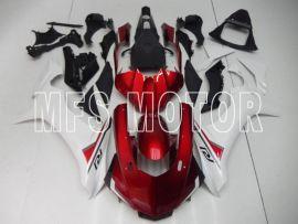Yamaha YZF-R1 2015-2020 Carénage ABS Injection - Autre - Blanc / Rouge