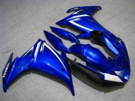 Yamaha FZ6R 2009 Carénage ABS - autres - tout bleu