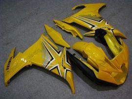 Yamaha FZ6R 2009 Carénage ABS - autres - tout jaune