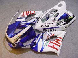 Yamaha YZF-1000R 1997-2007 Carénage ABS - FIAT - blanc/bleu