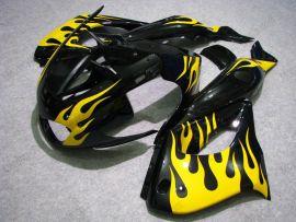 Yamaha YZF-1000R 1997-2007 Carénage ABS - Flame jaune - noir