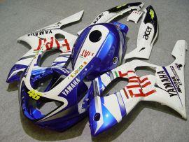 Yamaha YZF-600R 1994-2007 Carénage ABS - FIAT - blanc/bleu