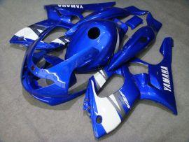 Yamaha YZF-600R 1994-2007 Carénage ABS - autres - bleu/blanc