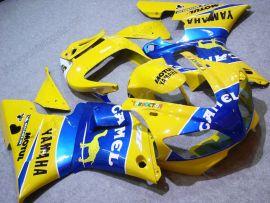 Yamaha YZF-R1 1998-1999 Carénage ABS Injection - Camel - jaune/bleu