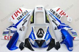 Yamaha YZF-R1 1998-1999 Carénage ABS Injection - FIAT - bleu/blanc