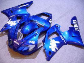 Yamaha YZF-R1 1998-1999 Carénage ABS Injection - autres - tout bleu
